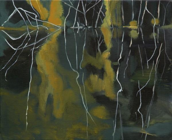 Isabel Duperray_Reflets I, 2012, huile sur toile, 33 x 41 cm 2